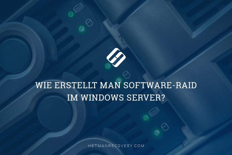 Wie erstellt man Software-RAID im Windows Server?