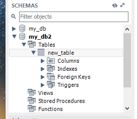 MySQL Workbench. When you start MySQL Workbench, restored table files that you have put into the database folder will be accessible now