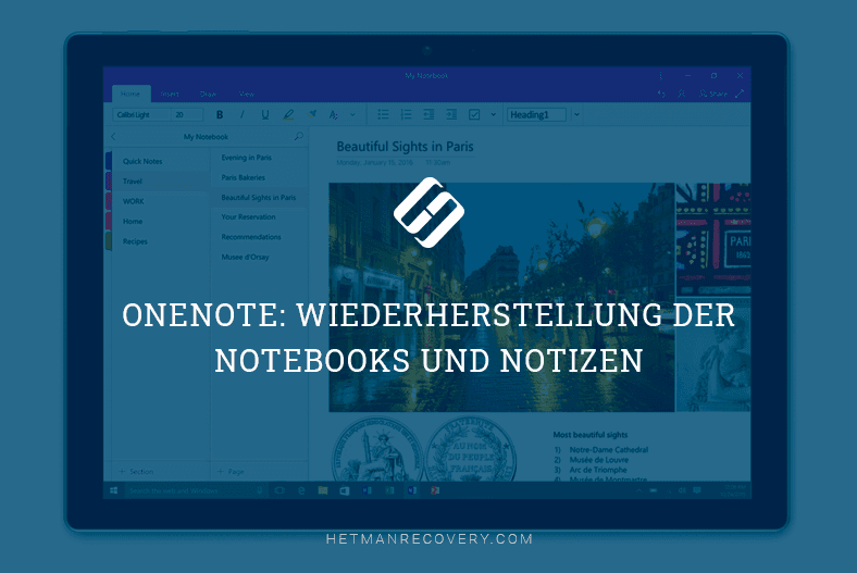 OneNote. «Open Other Notebooks»