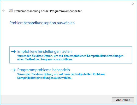 «CRITICAL_STRUCTURE_CORRUPTION» BSoD 0x00000109: Problembehandlungsoption auswählen