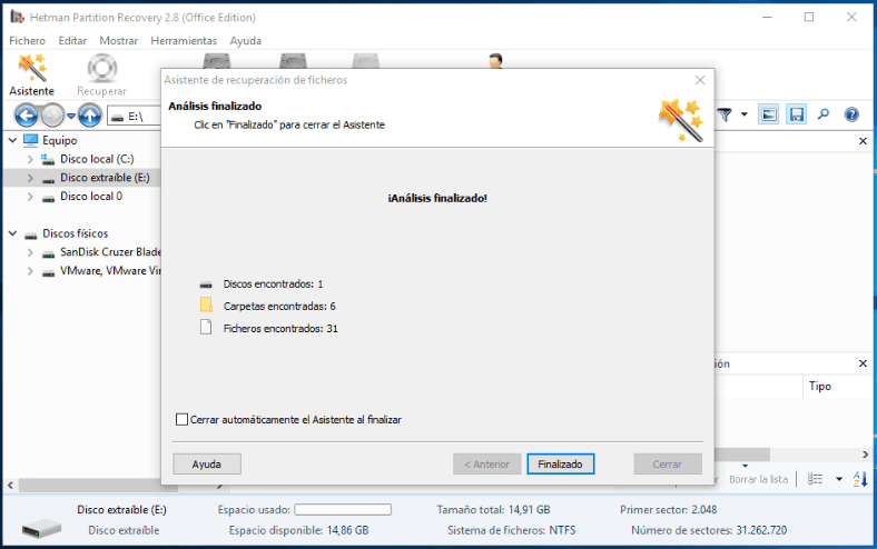 Hetman Partition Recovery