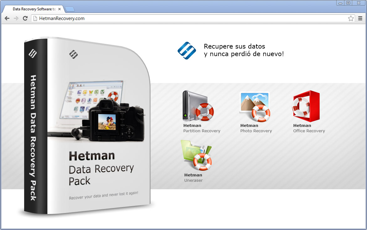 Toolkit Hetman Data Recovery Pack