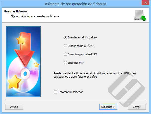 Hetman NTFS Recovery: Guardar archivos