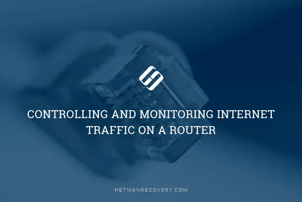Controlling and Monitoring Internet Traffic on a Router