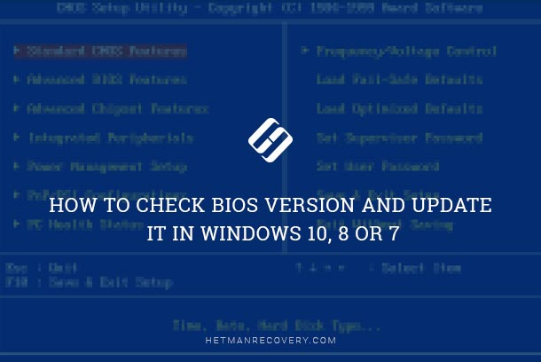 How to Check BIOS Version and Update It in Windows 10, 8 or 7
