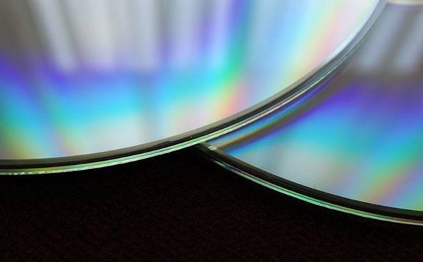 Сохранение фотографий на оптические диски