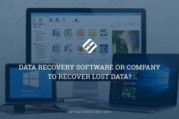 Data Recovery Software Or Company To Recover Lost Data?