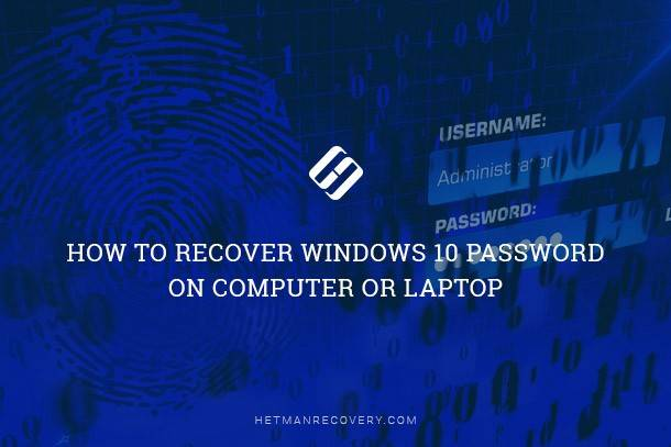 windows 10 change password hint without changing password