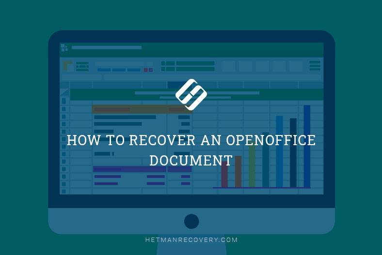 How to Recover an OpenOffice Document