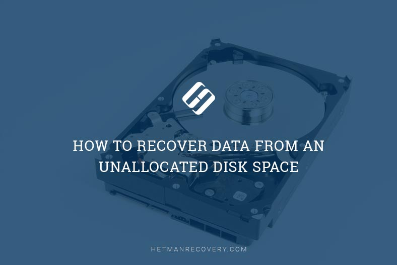 How to Recover Data From an Unallocated Disk Space