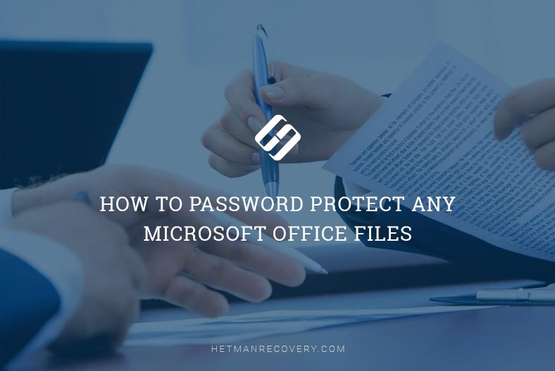How to Password Protect an MS Word, Excel or PowerPoint file?