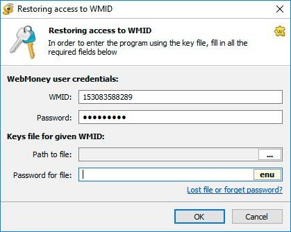 Restoring access to WMID