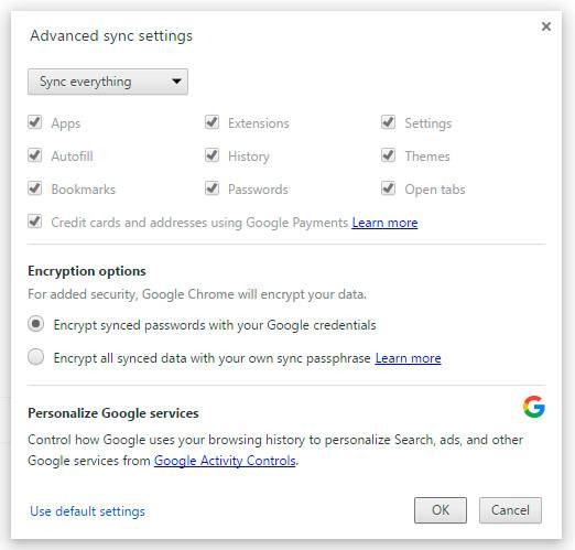 How To Recover Google Chrome Bookmarks and History