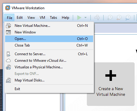 Recovering Data Of a VMware Virtual Machine