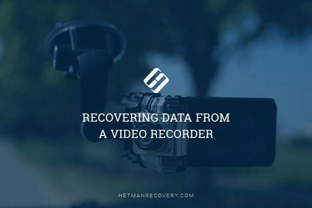 Recovering Data From a Video Recorder