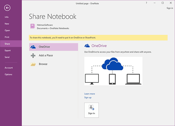 OneNote: Recover Notebooks Files and Notes
