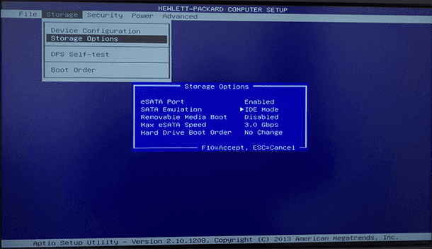 How to Enable AHCI Mode for SATA in BIOS without