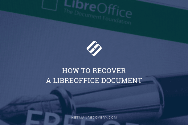 How to Recover a LibreOffice Document