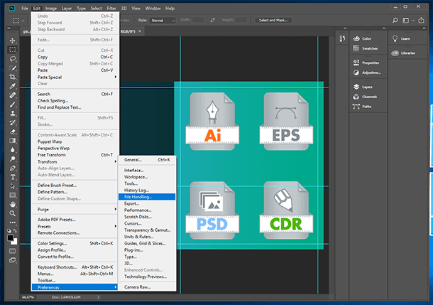 Recovering Adobe Photoshop ( psd) Files