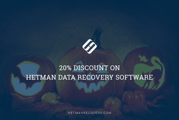 20% Discount on Hetman Data Recovery Software