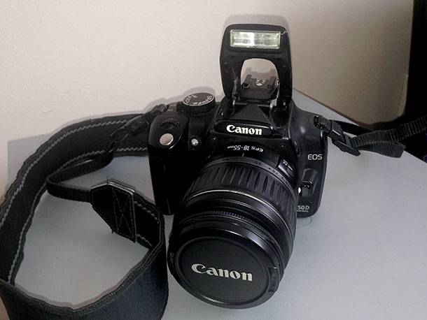Photo Recovery from Canon EOS 350