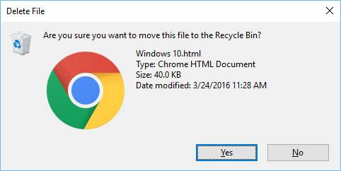 ATTENTION! Does Windows 10 Delete Files Without Confirmation?