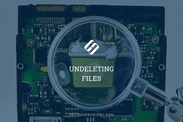 Undeleting Files