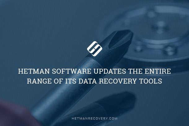 Hetman Data Recovery Pack Released