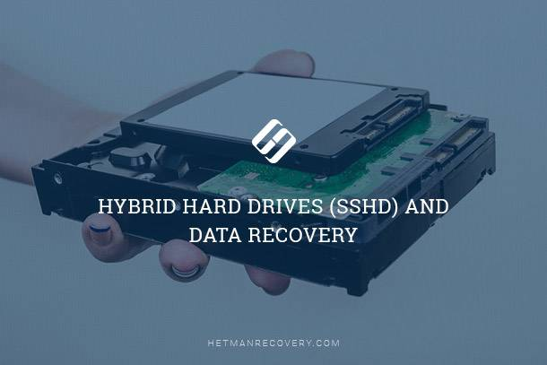 Recover data from SSHD drives
