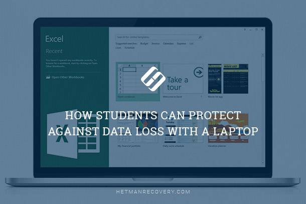 How students can protect their laptops against data loss