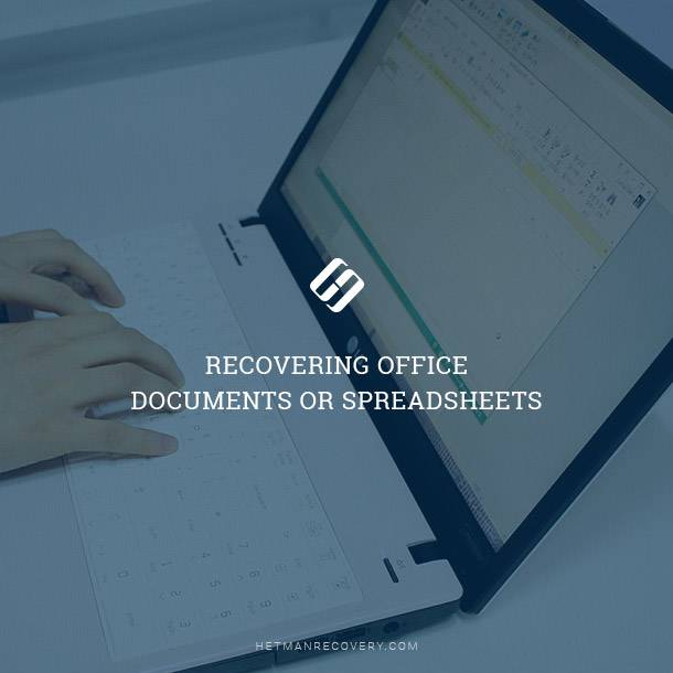 Recovering documents after formatting in 2020
