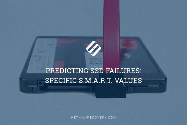 Predicting SSD Failures: Specific S.M.A.R.T. Values