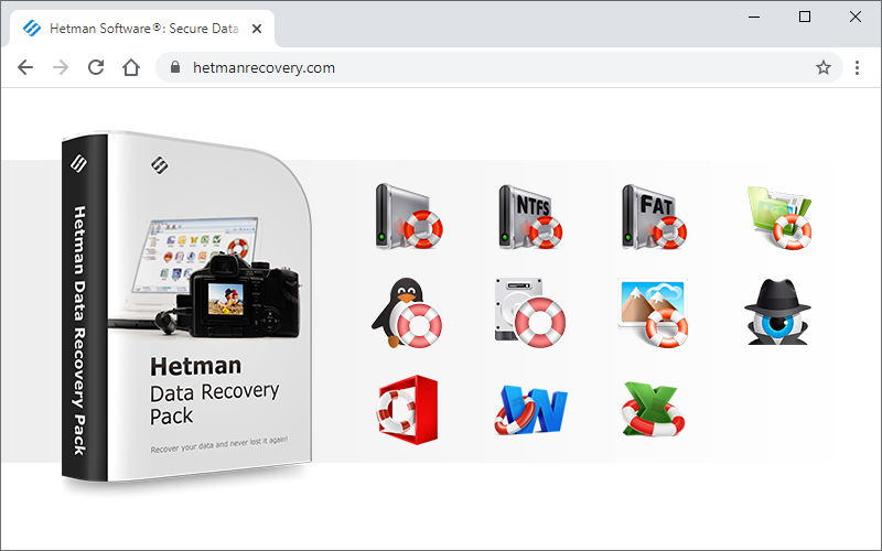 Click to view Hetman Data Recovery Pack screenshots