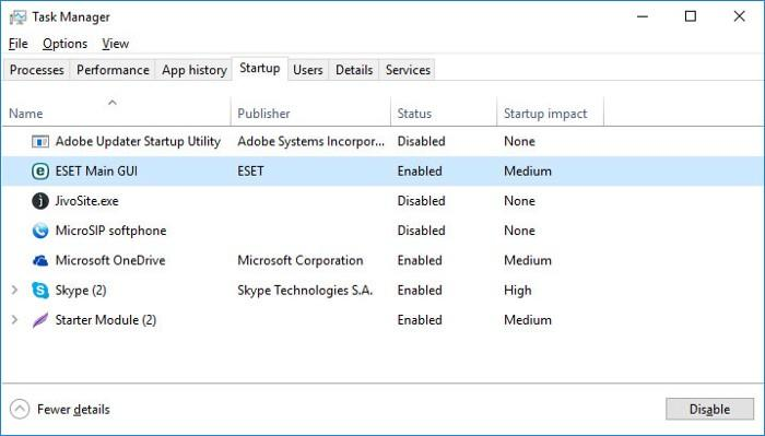 INCONSISTENT_IRP BSoD 0x0000002A: Disable Unnecessary Programs in Windows Startup Menu