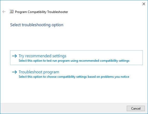 SYSTEM_UNWIND_PREVIOUS_USER BSoD 0x0000003A: Setup compatibility mode
