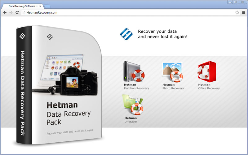 Data Recovery Software Pack