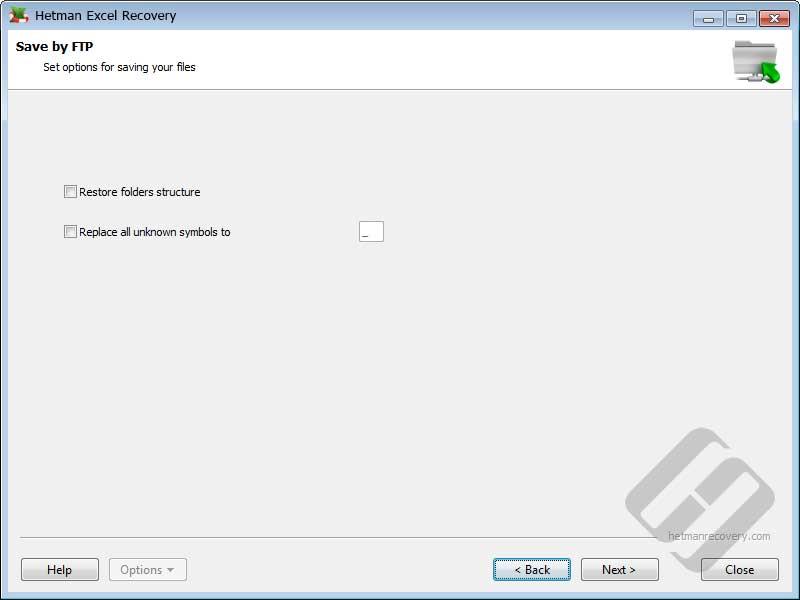 Hetman Excel Recovery: Restoring Folders Structure