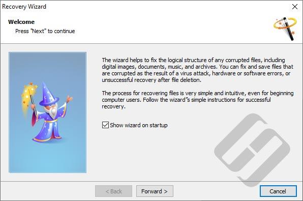 Hetman File Repair: Wizard