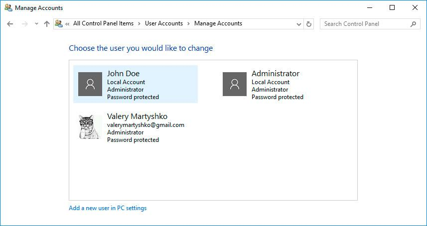 how to change your domain account password in windows 10