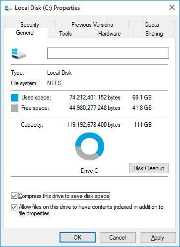 System Restore Point in Windows 10