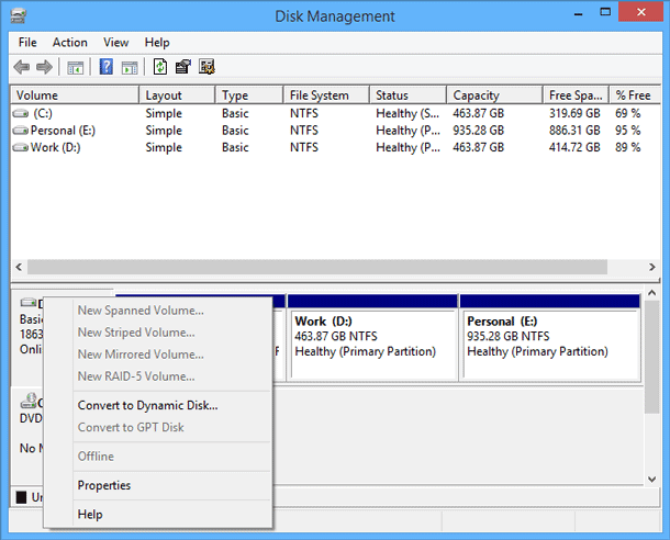 Windows 10 lossless mbr to gpt conversion - How to recover partition table ...